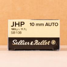 Image of 10mm pistol ammunition at AmmoMan.com.