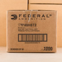 Photo of .45 Automatic JHP ammo by Federal for sale at AmmoMan.com.