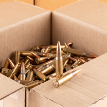 Photo detailing the 7.62x51MM LAKE CITY 149 GRAIN FMJ M80 (500 ROUNDS) for sale at AmmoMan.com.