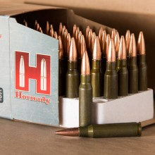 308 HORNADY STEEL MATCH 155 GRAIN BTHP 50 ROUNDS