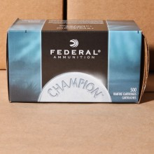 Image of the .22 LR FEDERAL 40 GRAIN LEAD ROUND NOSE (5,000 ROUNDS) available at AmmoMan.com.