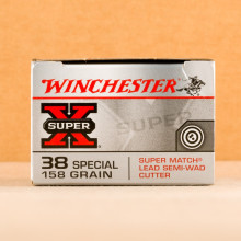 Image of Winchester 38 Special pistol ammunition.