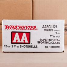 #7.5 shot shotgun rounds for sale at AmmoMan.com - 25 rounds.