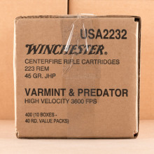 Photo of 223 Remington JHP ammo by Winchester for sale.