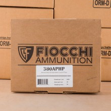 Image of .380 ACP FIOCCHI 90 GRAIN JHP (1000 ROUNDS)
