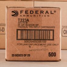Image of Federal 223 Remington rifle ammunition.