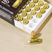 40 S&W WINCHESTER TRAIN & DEFEND 180 GRAIN FMJ (500 ROUNDS)