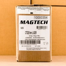 Image of 9MM LUGER MAGTECH 124 GRAIN FMJ (1000 ROUNDS)