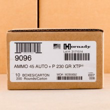 Image of .45 Automatic pistol ammunition at AmmoMan.com.