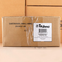 Image of 7.62 x 39 ammo by Tula Cartridge Works that's ideal for training at the range.