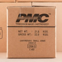 Image of .45 Automatic ammo by PMC that's ideal for training at the range.