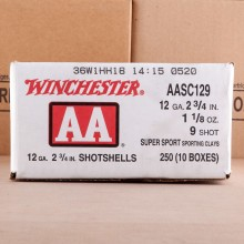 Photograph of Winchester 12 Gauge #9 shot for sale at AmmoMan.com