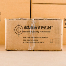 A photo of a box of Magtech ammo in 5.56x45mm.