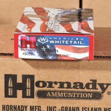 Image of 270 Winchester ammo by Hornady that's ideal for whitetail hunting.