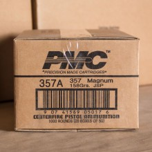 An image of 357 Magnum ammo made by PMC at AmmoMan.com.