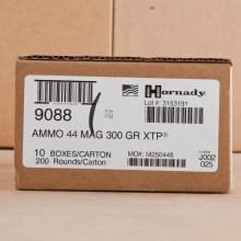 Photo of 44 Remington Magnum JHP ammo by Hornady for sale at AmmoMan.com.