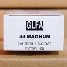 An image of 44 Remington Magnum ammo made by Great Lakes at AmmoMan.com.