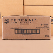 Photograph of Federal 12 Gauge 00 BUCK for sale at AmmoMan.com