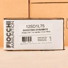 Photograph of Fiocchi 12 Gauge #7.5 shot for sale at AmmoMan.com