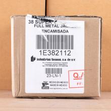 A photo of a box of Aguila ammo in 38 Super.