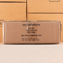Image of the 7.62X54R RUSSIAN SURPLUS 148 GRAIN FMJ (440 ROUNDS) available at AmmoMan.com.