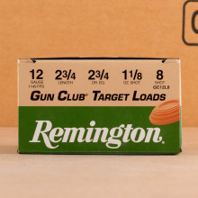 Photograph of Remington 12 Gauge #8 shot for sale at AmmoMan.com