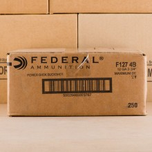 Photograph of Federal 12 Gauge #4 BUCK for sale at AmmoMan.com