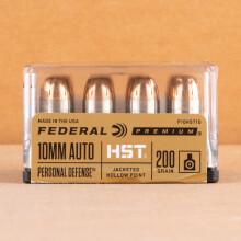 Image of Federal 10mm pistol ammunition.