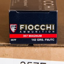 Image of 357 MAGNUM FIOCCHI 142 GRAIN FMJ (1000 ROUNDS)