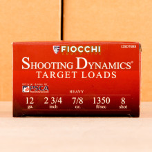 Photograph of Fiocchi 12 Gauge #8 shot for sale at AmmoMan.com