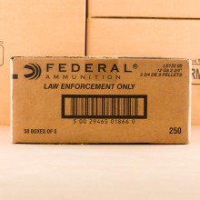Photograph showing detail of 12 GAUGE FEDERAL TACTICAL 00 BUCKSHOT (250 ROUNDS)