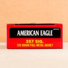 Image of Federal 357 SIG pistol ammunition.