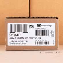 Image of .40 Smith & Wesson pistol ammunition at AmmoMan.com.