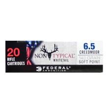 Photo of 6.5MM CREEDMOOR soft point ammo by Federal for sale.