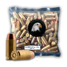 40 S&W - 180 Grain FMJ - Military Ballistics Industries - 100 Rounds