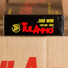 308 WIN TULA 150 GRAIN FULL METAL JACKET (20 ROUNDS)